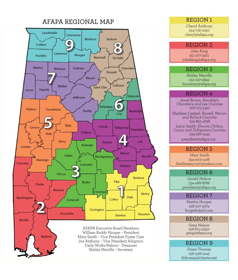 afapa-regional-map
